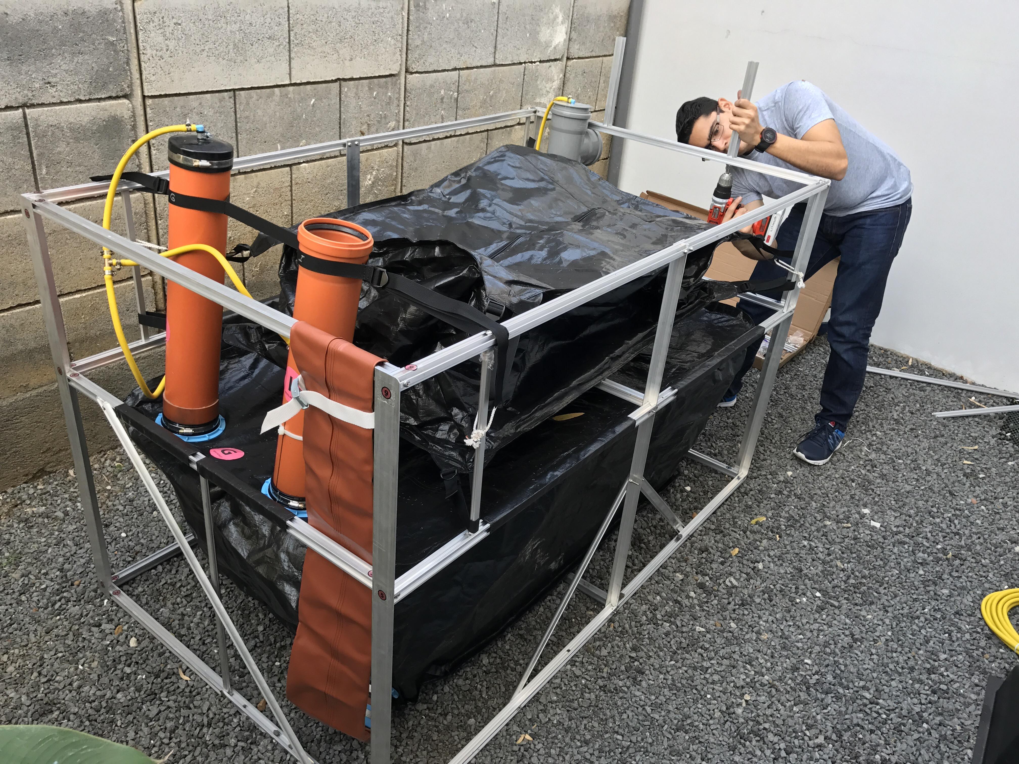 Biogas Generator System in Nicaragua Big Sky Ranch Nicaragua