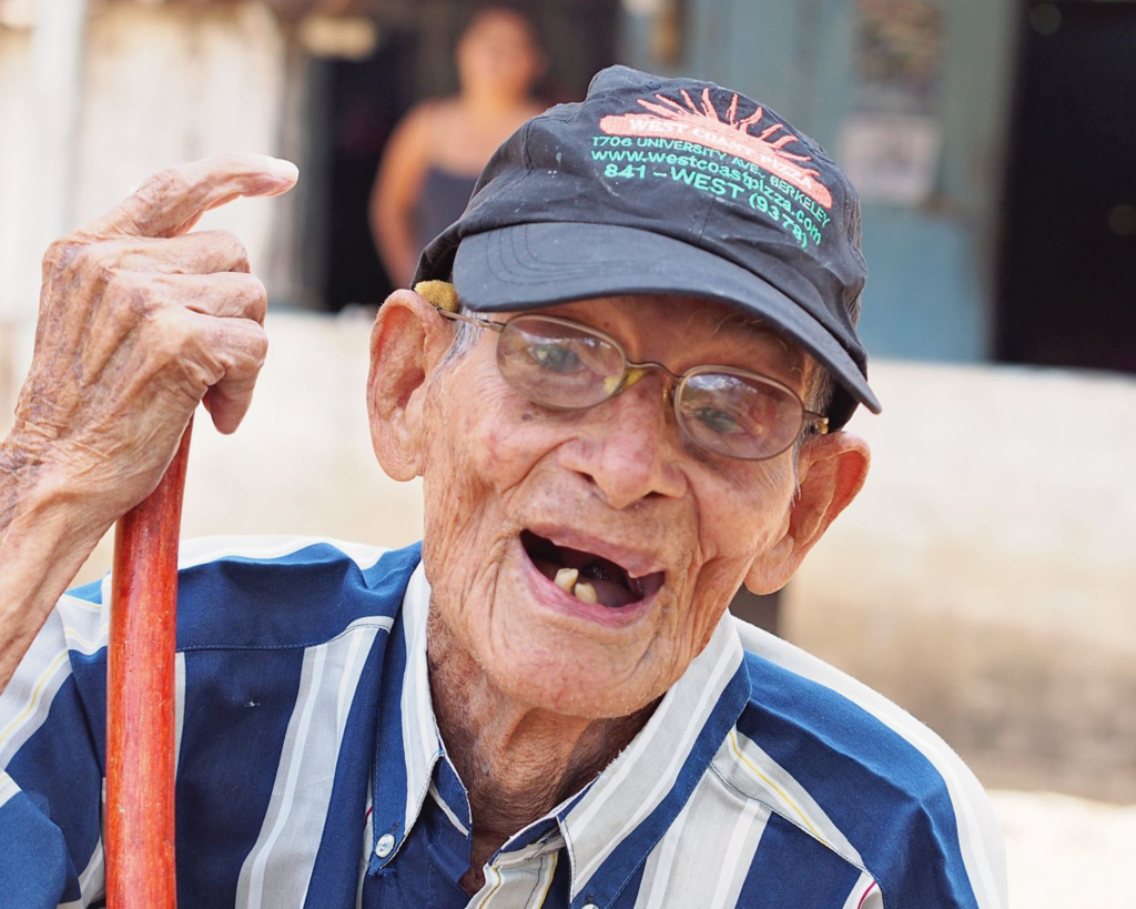 Don Victor lived to 105 in the Blue Zone in Escamequita, Big Sky Ranch Nicaragua