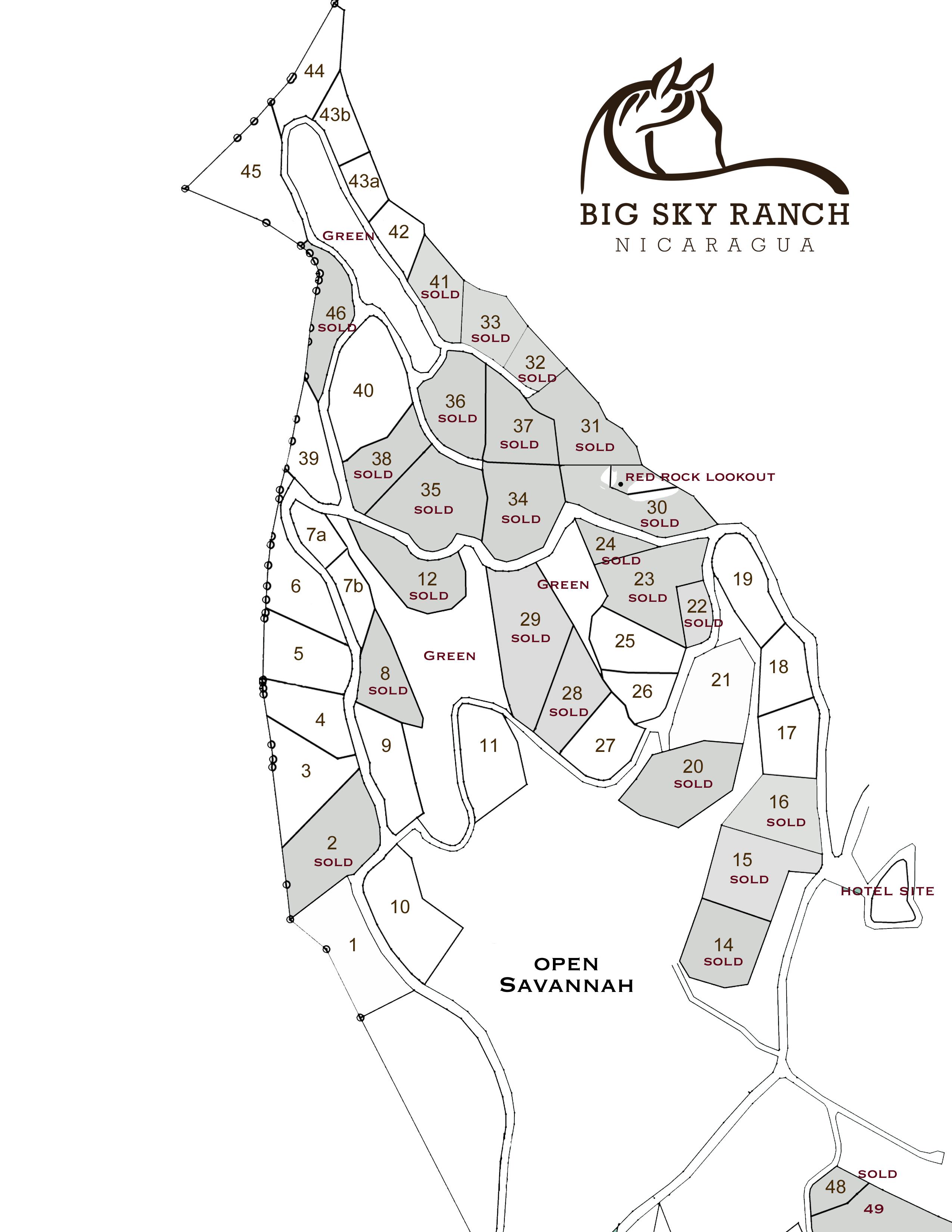 Big Sky Ranch Phase 1 Signature Lots